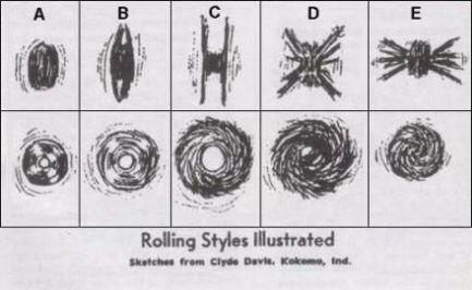 Rolling styles